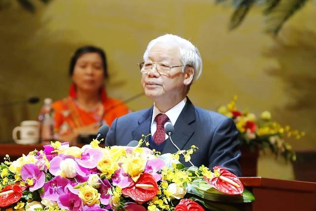 Toàn văn Bài phát biểu của Tổng Bí thư, Chủ tịch nước tại Đại hội Hội Nông dân - Ảnh 1.
