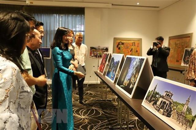 Hình ảnh đẹp về di sản, đất nước và con người Việt Nam được giới thiệu tại Australia - Ảnh 1.