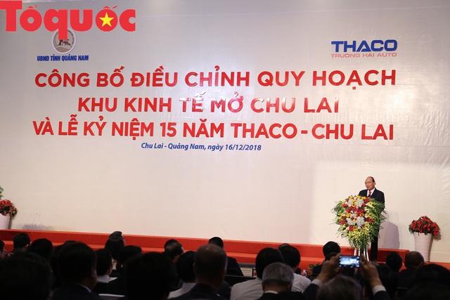 Công bố Quyết định điều chỉnh qui hoạch chung Khu kinh tế mở Chu Lai  - Ảnh 4.