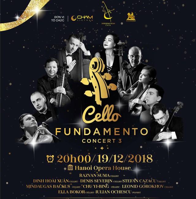 Chuỗi hòa nhạc quốc tế thường niên Cello Fundamento Concert - Ảnh 1.