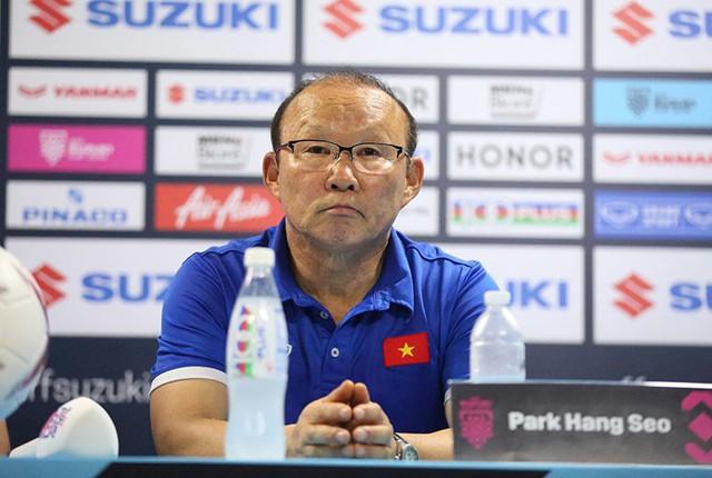 HLV Park Hang-seo: Tỷ số 2-1 là lợi thế lớn - Ảnh 1.