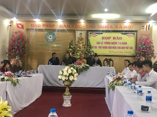 Nhiều hoạt động tưởng niệm 710 năm Phật hoàng Trần Nhân Tông nhập Niết bàn - Ảnh 2.