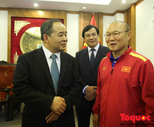 Đại sứ Hàn Quốc: Nhờ có HLV Park Hang-seo mà Việt Nam và Hàn Quốc đã trở thành một gia đình - Ảnh 3.