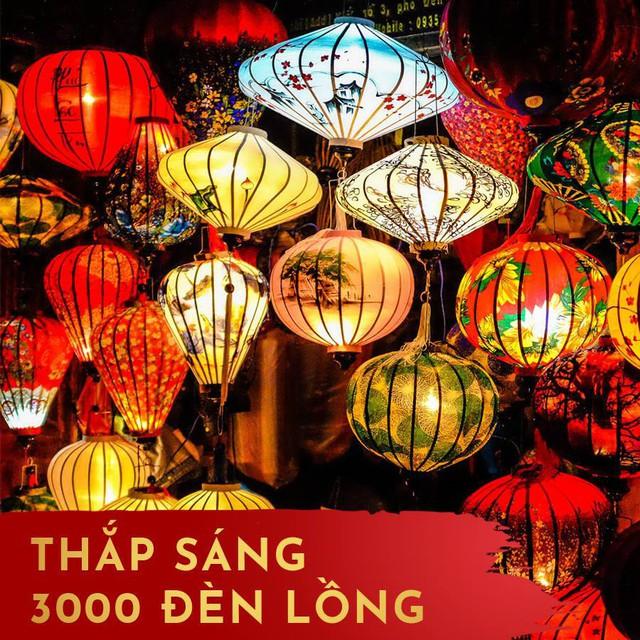 3.000 cây đèn lồng, khí cầu rực rỡ và một đêm pháo hoa thắp sáng miền di sản - Ảnh 2.