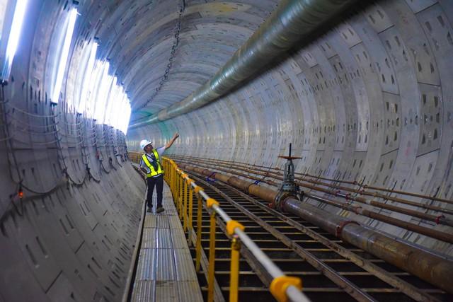TP HCM thẩm tra việc đường hầm Metro số 1 bị thay đổi thiết kế - Ảnh 1.