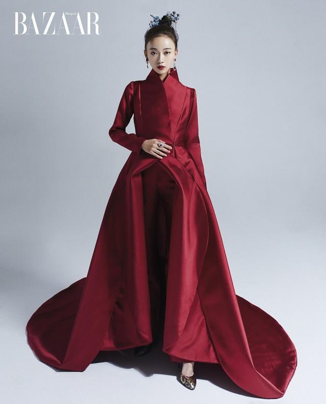Triệu Vy diện đồ giá 50.000 đô của NTK Tuyết Lê - Ảnh 4.