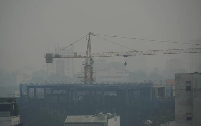 Sương mù dày đặc bao phủ cả ngày, Sài Gòn mờ ảo như Đà Lạt - Ảnh 4.
