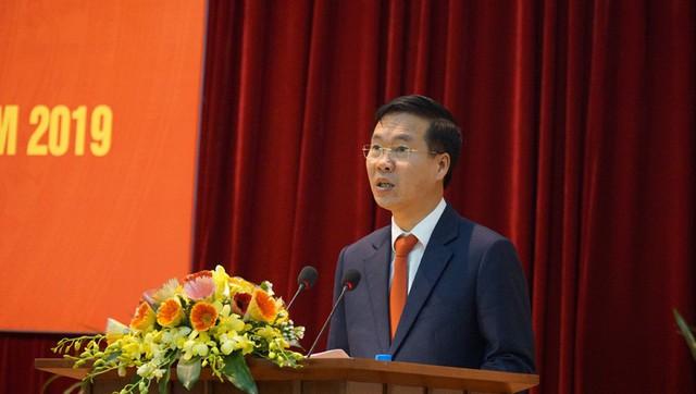 Ông Võ Văn Thưởng: Thông tin đối ngoại cần đẩy mạnh ứng dụng CNTT, truyền thông hiện đại - Ảnh 1.