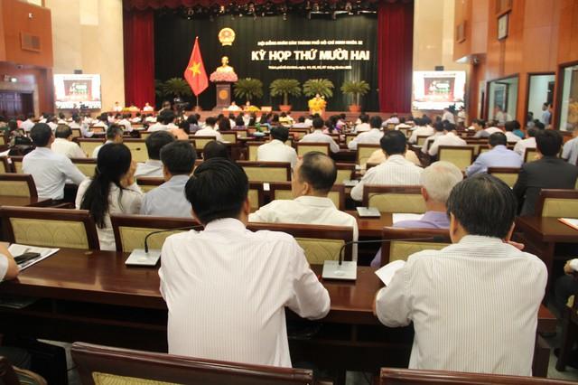 TP HCM lấy phiếu tín nhiệm cán bộ ở kỳ họp thứ 12 HĐND TP - Ảnh 1.