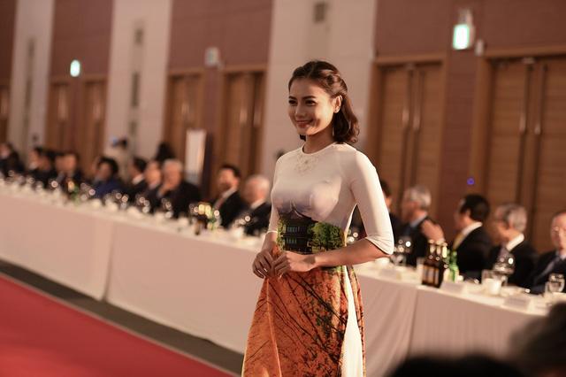 Trình diễn bộ sưu tập áo dài của Đỗ Trịnh Hoài Nam tại Hàn Quốc - Ảnh 11.