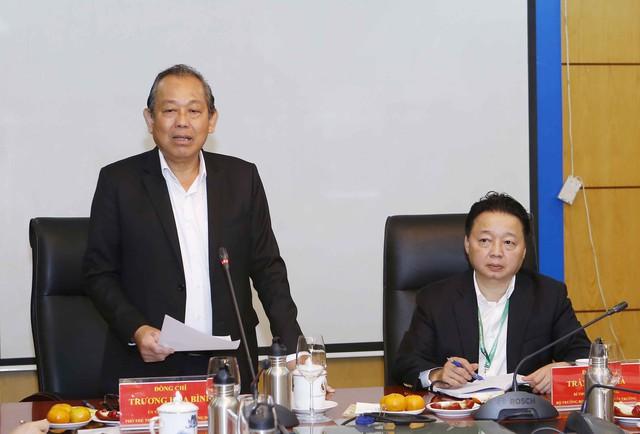 Phó Thủ tướng Trương Hòa Bình: Phải giám sát rất chặt chẽ các dự án đầu tư, xây dựng - Ảnh 1.