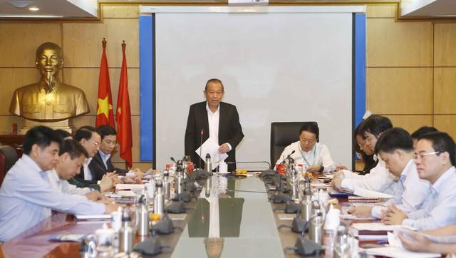 Phó Thủ tướng Trương Hòa Bình: Phải giám sát rất chặt chẽ các dự án đầu tư, xây dựng - Ảnh 2.