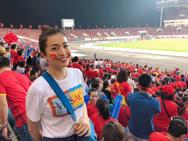 Sao Việt vui với chiến thắng của đội tuyển bóng đá Việt Nam vào chung kết AFF Cup - Ảnh 7.