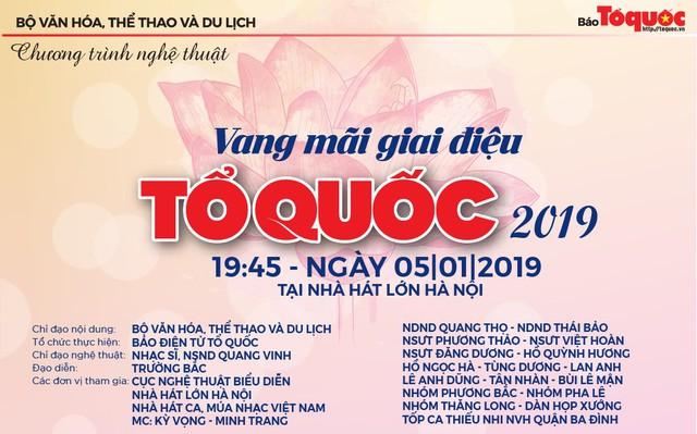 Sắp diễn ra chương trình nghệ thuật chính trị Vang mãi giai điệu Tổ Quốc 2019   - Ảnh 1.