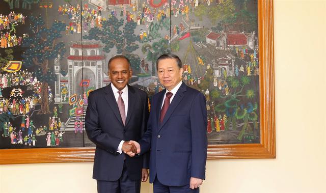 Việt Nam -  Singapore tăng cường hợp tác chống tội phạm khủng bố, tội phạm kinh tế, truy nã, an ninh mạng - Ảnh 1.
