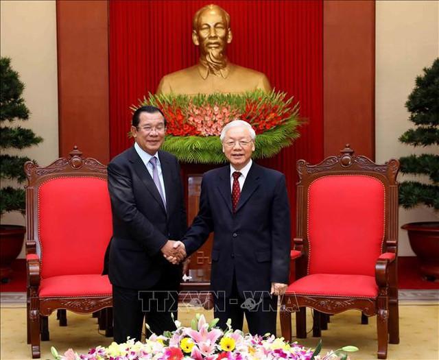 Tổng Bí thư, Chủ tịch nước Nguyễn Phú Trọng khẳng định đường lối đối ngoại và chính sách ba không của Việt Nam - Ảnh 1.