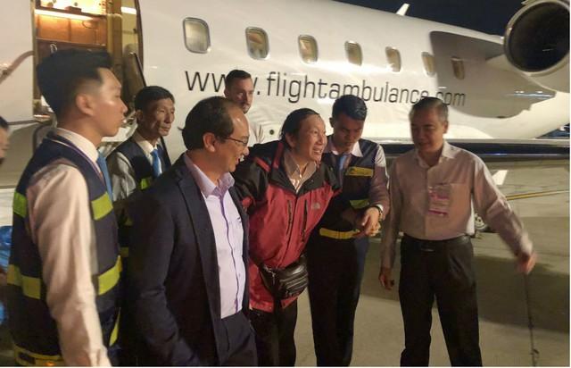 3 du khách bị thương vụ đánh bom ở Ai Cập đang được điều trị ở TP HCM - Ảnh 4.