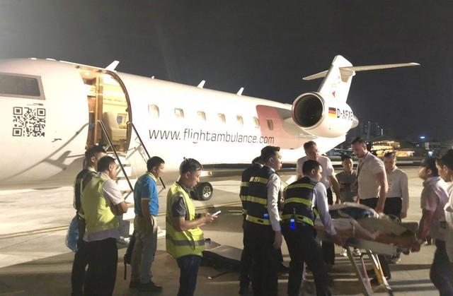 3 du khách bị thương vụ đánh bom ở Ai Cập đang được điều trị ở TP HCM - Ảnh 3.