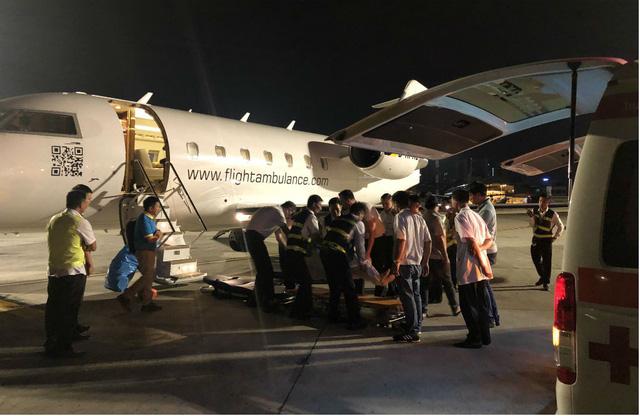 3 du khách bị thương vụ đánh bom ở Ai Cập đang được điều trị ở TP HCM - Ảnh 5.