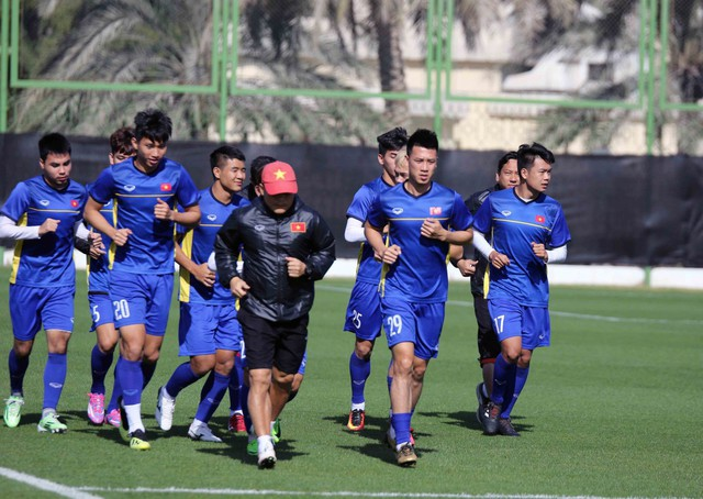 ĐT Việt Nam trở lại sân tập, Duy Mạnh khẳng định: Chúng tôi vẫn sẽ chơi hết mình - Ảnh 3.