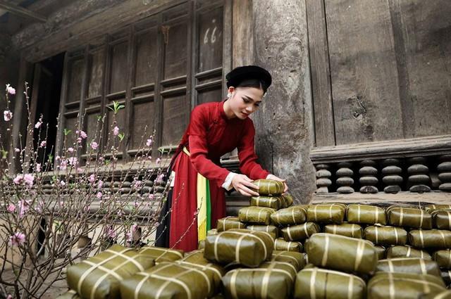 """Vui """"Tết Việt"""" 2019 tại làng Lệ Mật - Ảnh 1."""
