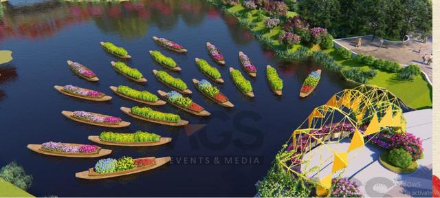 Quảng Ninh thu nhỏ đẹp diệu kỳ trong Lễ hội hoa xuân hoành tráng tại Sun World Halong Complex - Ảnh 5.
