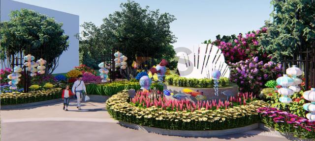 Quảng Ninh thu nhỏ đẹp diệu kỳ trong Lễ hội hoa xuân hoành tráng tại Sun World Halong Complex - Ảnh 2.