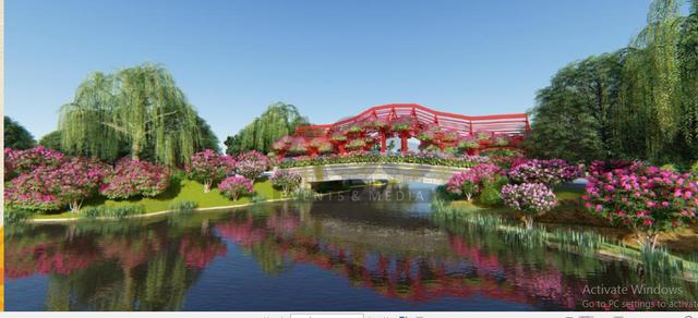 Quảng Ninh thu nhỏ đẹp diệu kỳ trong Lễ hội hoa xuân hoành tráng tại Sun World Halong Complex - Ảnh 4.