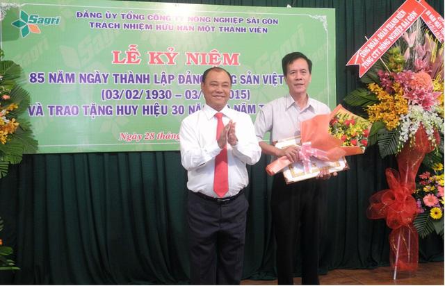 Tổng giám đốc Tổng công ty Nông nghiệp Sài Gòn Lê Tấn Hùng bị cảnh cáo - Ảnh 1.