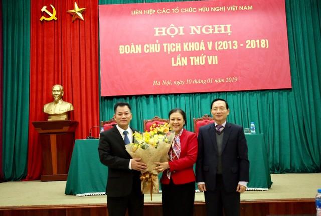 Bà Nguyễn Phương Nga được bầu làm Chủ tịch Liên hiệp các tổ chức hữu nghị Việt Nam - Ảnh 2.
