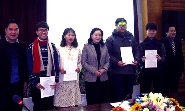 Thêm bốn sinh viên được trao Quyết định cử đi đào tạo, bồi dưỡng nguồn nhân lực văn hóa nghệ thuật ở nước ngoài  - Ảnh 1.