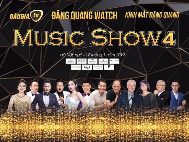 Bằng Kiều, Duy Mạnh hội ngộ trong đêm nhạc Đăng Quang Music show 4 - Ảnh 1.