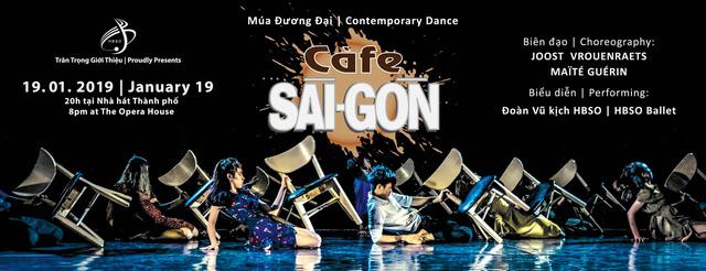 """""""Cafe Saigon"""" trở lại trên sân khấu Nhà hát TP Hồ Chí Minh - Ảnh 1."""