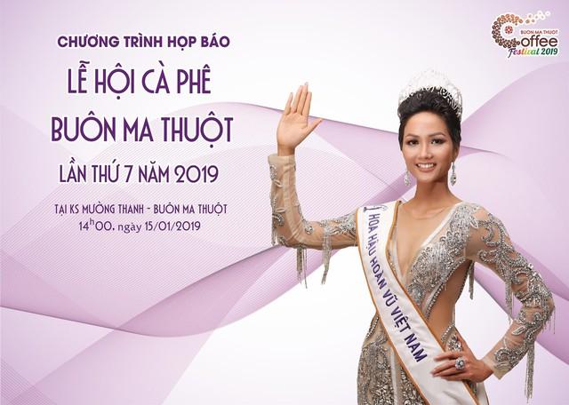 Hoa hậu HHen Niê là Đại sứ Truyền thông Lễ hội Cà phê Buôn Ma Thuột lần thứ 7 - Ảnh 1.