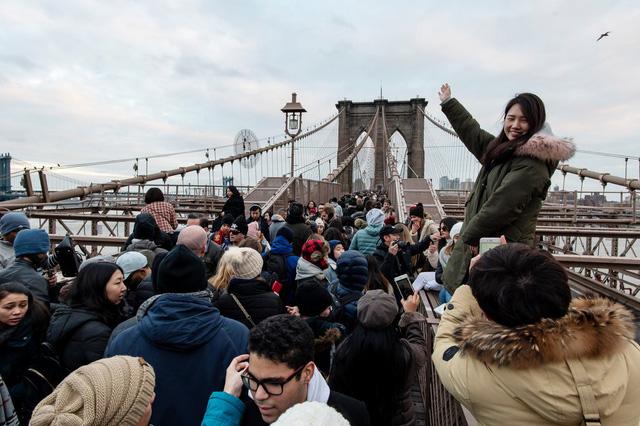 Tăng trưởng ấn tượng của du lịch thành phố New York 2018 - Ảnh 1.
