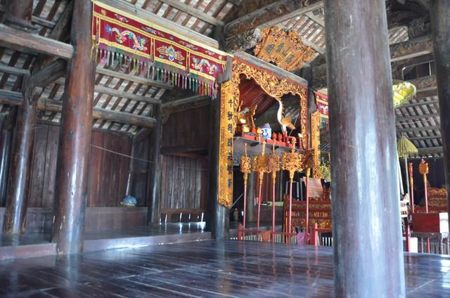 Độc đáo ngôi đình cổ mang kiến trúc nhà sàn truyền thống của dân tộc Tày ở Lạng Sơn - Ảnh 8.