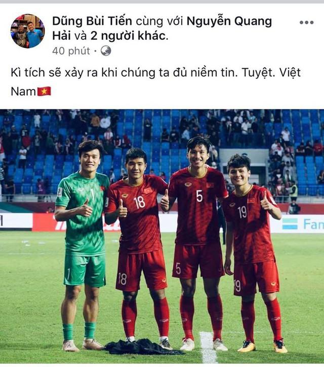 Các cầu thủ Việt Nam khẳng định: Anh sẽ về nhưng không phải hôm nay - Ảnh 3.
