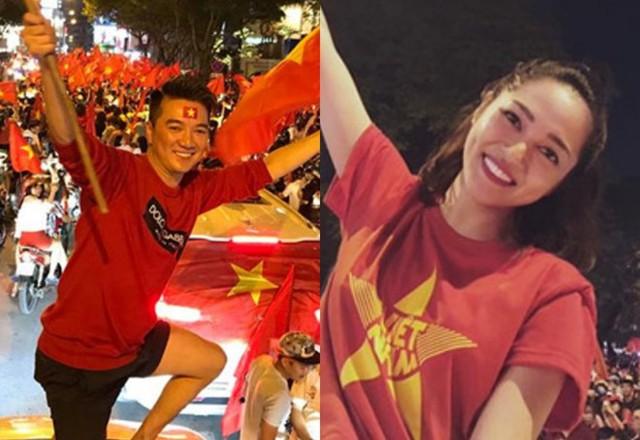 Sao Việt đi bão chúc mừng đội tuyển Việt Nam vào tứ kết Asian Cup 2019 - Ảnh 5.