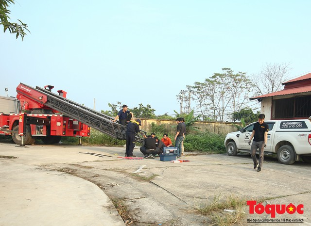 Mục sở thị dàn siêu xe mới của lực lượng PCCC và CNCH Việt Nam - Ảnh 12.
