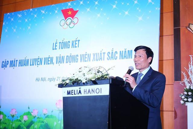 Bộ trưởng Nguyễn Ngọc Thiện gặp mặt HLV, VĐV xuất sắc năm 2018 - Ảnh 1.