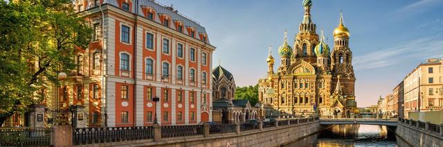 """St. Petersburg của Nga lần thứ ba đoạt giải """"Oscar du lịch"""""""