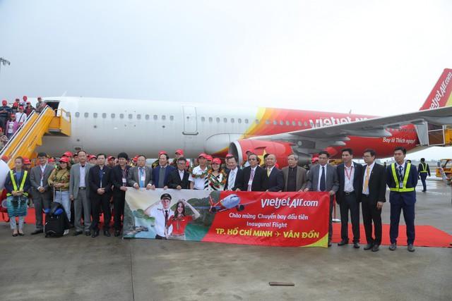 VietjetAir chính thức mở đường bay Vân Đồn - Thành phố Hồ Chí Minh - Ảnh 4.