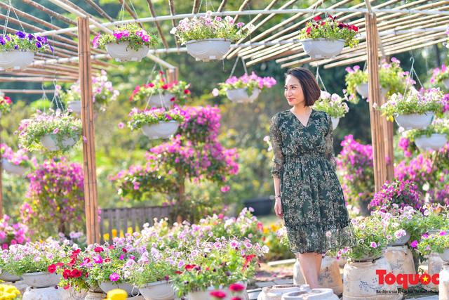 [Bài đăng mùng 3 tết] Điểm danh những điểm chụp ảnh Tết siêu đẹp chỉ có ở Hà Nội - Ảnh 2.