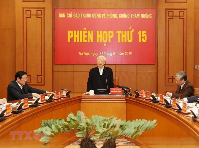 Phiên họp thứ 15 của Ban Chỉ đạo Trung ương về phòng, chống tham nhũng - Ảnh 2.