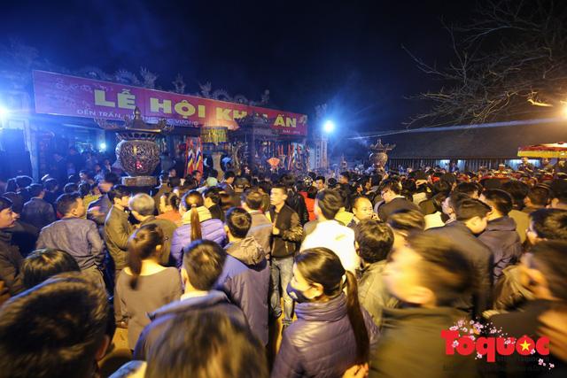 Lắp đặt camera giám sát an ninh và phát hiện các hành vi phản cảm tại Lễ hội đền Trần Nam Định - Ảnh 1.