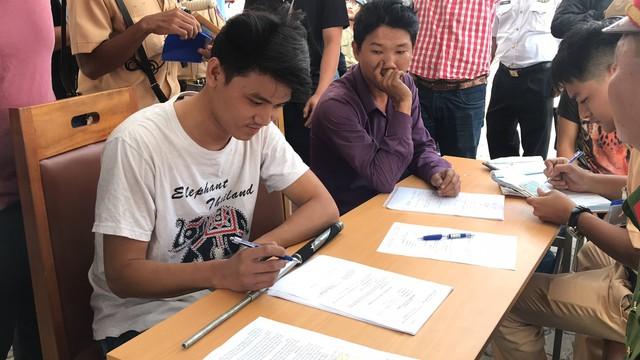 Tài xế container ở Sài Gòn phản ứng kết quả kiểm tra ma túy của cảnh sát - Ảnh 3.