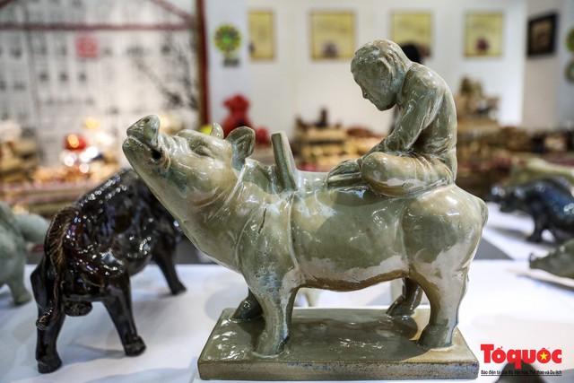 """Chiếm ngưỡng gần 2.000 chú """"Lợn sung túc"""" của nhà sử học Dương Trung Quốc - Ảnh 4."""