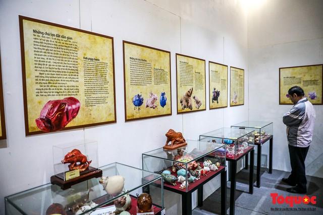 """Chiếm ngưỡng gần 2.000 chú """"Lợn sung túc"""" của nhà sử học Dương Trung Quốc - Ảnh 17."""