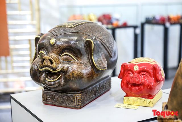 """Chiếm ngưỡng gần 2.000 chú """"Lợn sung túc"""" của nhà sử học Dương Trung Quốc - Ảnh 11."""