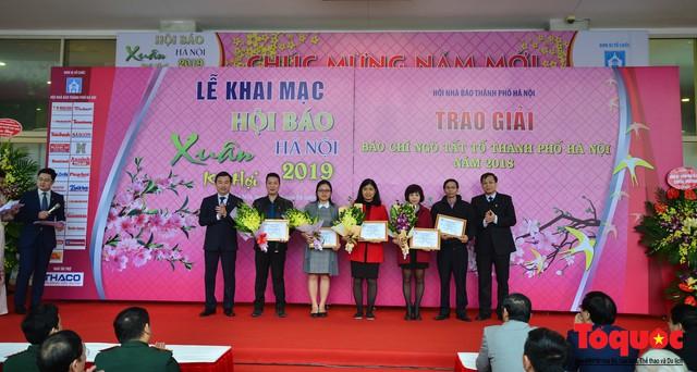 Khai mạc Hội báo xuân Kỷ Hợi - Hà Nội năm 2019 - Ảnh 3.
